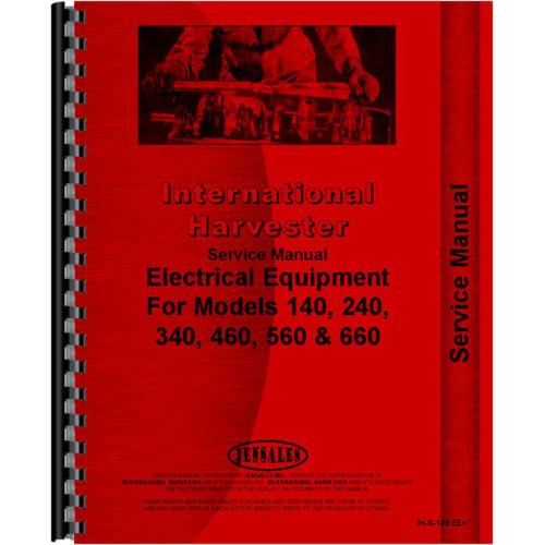 farmall 560 tractor electrical service manual electrical rh jensales com Farmall Wiring Harness Diagram 1948 Farmall Cub Wiring-Diagram