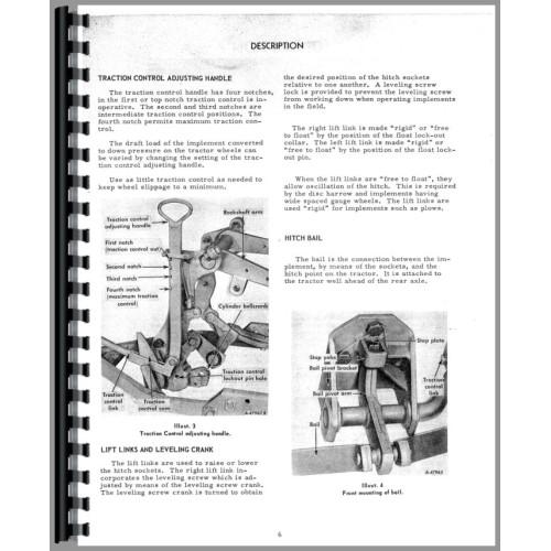 Internationalharvester Tractor Manual X