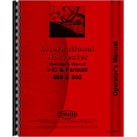 International Harvester 560 Tractor Operators Manual (1958-1963) (Row Crop & HC)