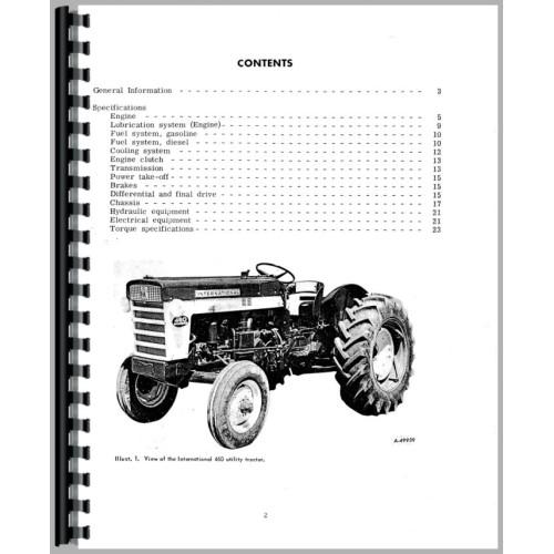 farmall 560 tractor service manual (1958 1963) (1958 to 1963)