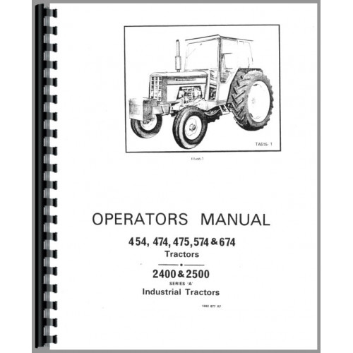 584 International Tractor Ih Wiring Diagram And Fuse Box