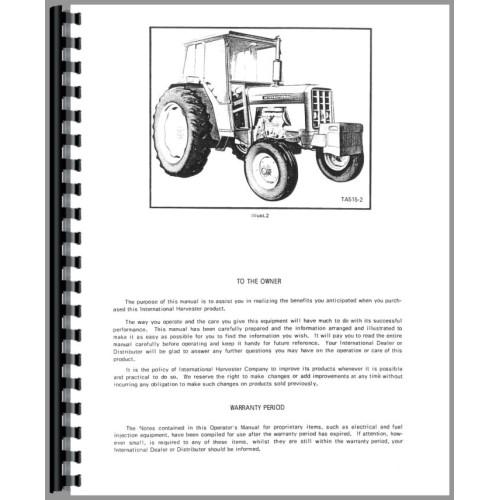 International Harvester 674 Tractor Operators Manual on international harvester m magneto wire diagram, international harvester hydraulic system diagram, international heavy truck wiring diagrams,