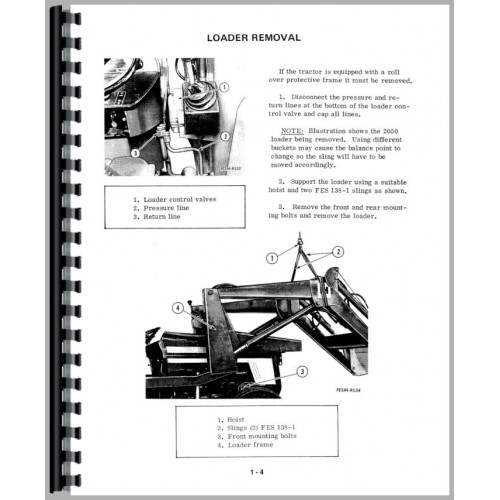 international harvester 684 tractor service manual  1977