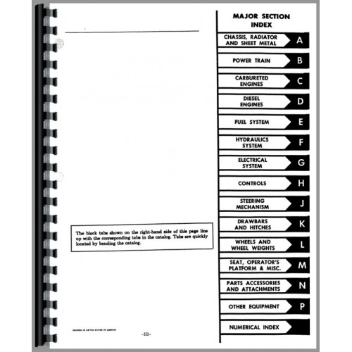 Farmall 656 Tractor Parts Manual  Chassis
