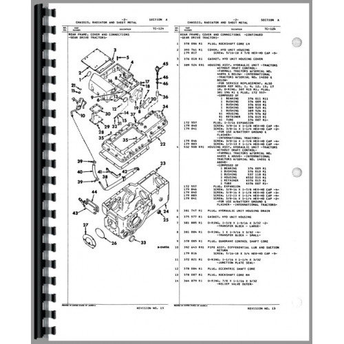 ford tractor farmall 656 tractor parts manual (chis) on international  tractor clutch, international tractor manual 656 international tractor  wiring
