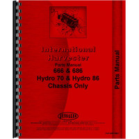 Farmall 666 Tractor Parts Manual (Chassis)