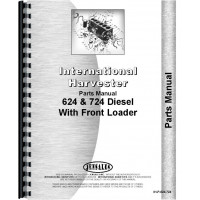 International Harvester 724 Tractor Parts Manual