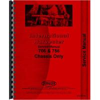 International Harvester 756 Tractor Operators Manual on