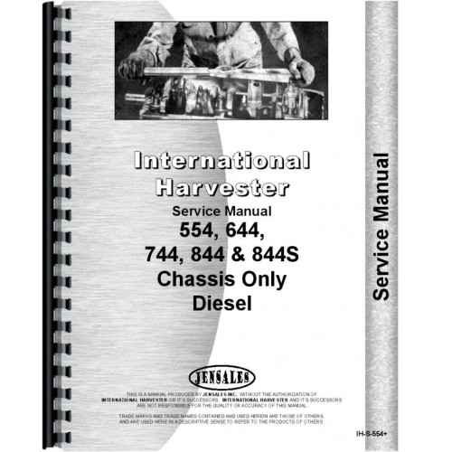 International Harvester 844S Tractor Service Manual