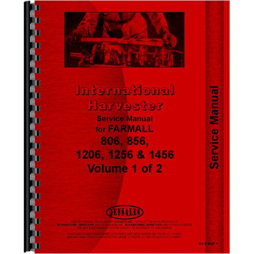 international harvester 1256 tractor service manual 1967 1969 rh jensales com Farmall 7488 Farmall 756