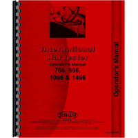 International Harvester 1066 Tractor Operators Manual (Gas and Diesel Only)