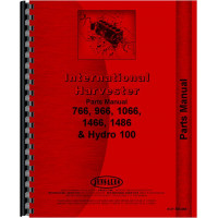 International Harvester 1066 Tractor Parts Manual (Chassis)