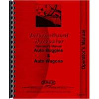 International Harvester Auto Buggy Operators Manual