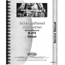 International Harvester B-275 Tractor Service Manual