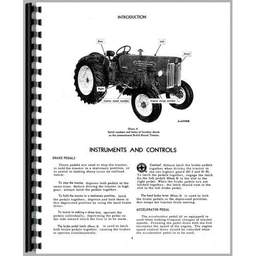 Carter Gruenewald Co Inc Ih Farmall Tractor Electrical Diagram – Ih 706 Lights Wiring-diagram