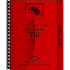 International Harvester B-414 Tractor Parts Manual