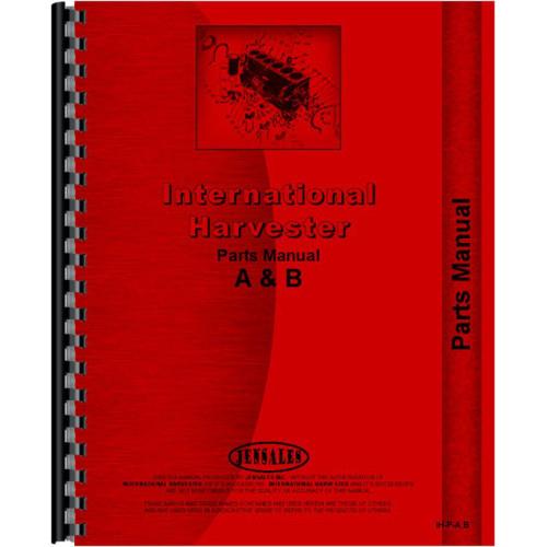 farmall b tractor parts manual (1939 1947)farmall b parts diagram
