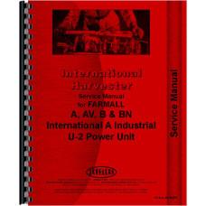 Farmall A Tractor Service Manual (1939-1947) (1939 to 1947)