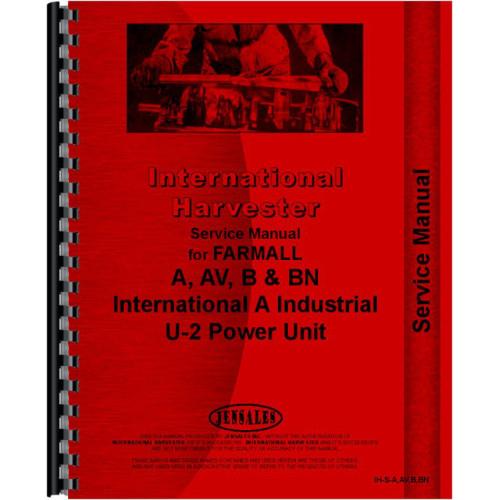 farmall b tractor service manual 1939 1947 rh jensales com farmall b service manual pdf Farmall BN