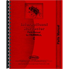 International Harvester C Tractor Parts Manual