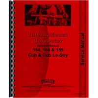 Farmall Cub 185 Lo-Boy Tractor Service Manual (1974-1976)