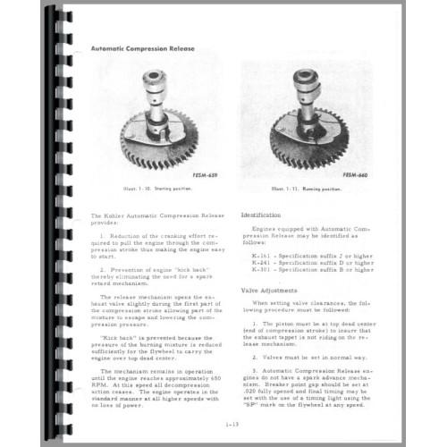 international harvester cub cadet 71 lawn & garden tractor service manual