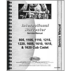 International Harvester Cub Cadet 1215 Lawn & Garden Tractor Service Manual