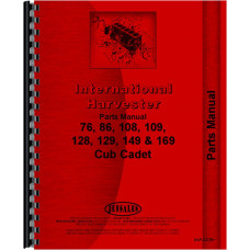 International Harvester Lawn & Garden Parts Manual (IH-P-CC76+)