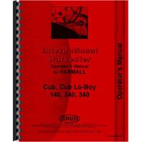 Farmall Cub Lo-Boy Tractor Preventative Maintenance Operators Manual