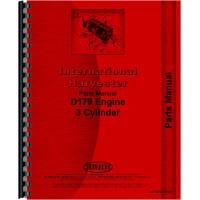 International Harvester 464 Tractor Engine Parts Manual (Engine)