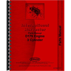 International Harvester 2400B Industrial Tractor Engine Parts Manual (Engine)