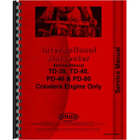 International Harvester TD35 Crawler Engine Service Manual