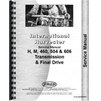 Farmall 504 Tractor Transmission & Final Drive Service Manual