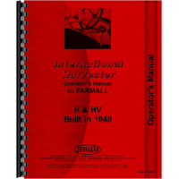 Farmall H Tractor Operators Manual (SN# 268991 - 300875) (1948)