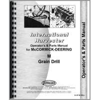 Image of International Harvester M Grain Drill Operators & Parts Manual