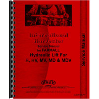 International Harvester M Tractor Hydraulic Lift-All Service Manual (All)