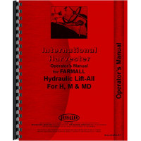 International Harvester M Tractor Hydraulic Lift-All Operators Manual (All) (Hydraulic Lift)