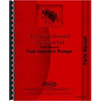 International Harvester MDV Tractor Diesel Pump Parts Manual (Pump Only)