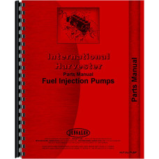 International Harvester MD Tractor Diesel Pump Parts Manual (Pump Only)