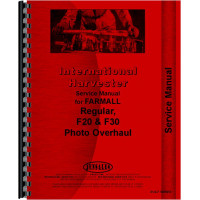 Farmall Regular Tractor Service Manual