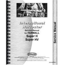 International Harvester Super H Tractor Service Manual
