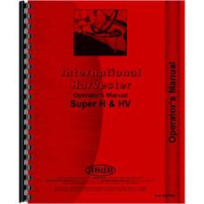 Farmall Super H Tractor Operators Manual