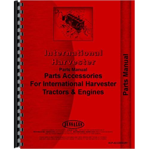 farmall super av tractor accessories supplement parts manual farmall super a tractors for sale farmall super a parts diagram #12