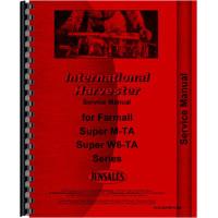 Farmall Super MTA Tractor Service Manual
