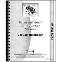 International Harvester T340 Crawler Parts Manual (Attachment)