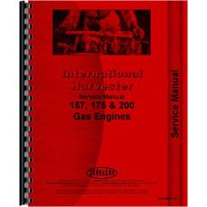 International Harvester 2400 Industrial Tractor Engine Service Manual (Gas)