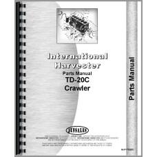 International Harvester TD20C Crawler Parts Manual