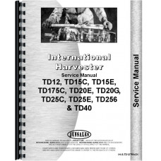 Huge selection of Farmall-International TD15C Parts and Manuals