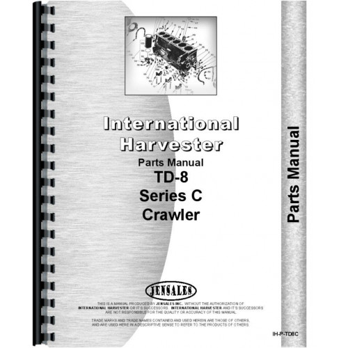 1972 International Td8c Dozer manual