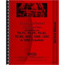 International Harvester 125C Crawler Service Manual (0-9500) (Chassis)